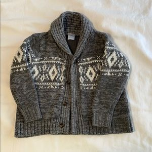 Carter's grey boys sweater